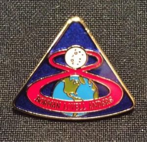 APOLLO 8 Lapel Pin